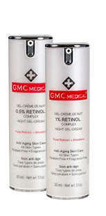 Retinol 0.5% & Retinol 1% Night Gel-Cream